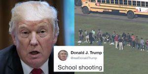 Trump shooting tweet